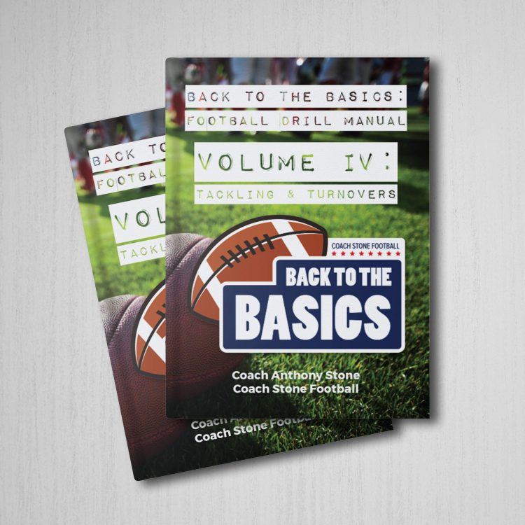 Back to Basics Football Drill Tackling & Turnovers Book