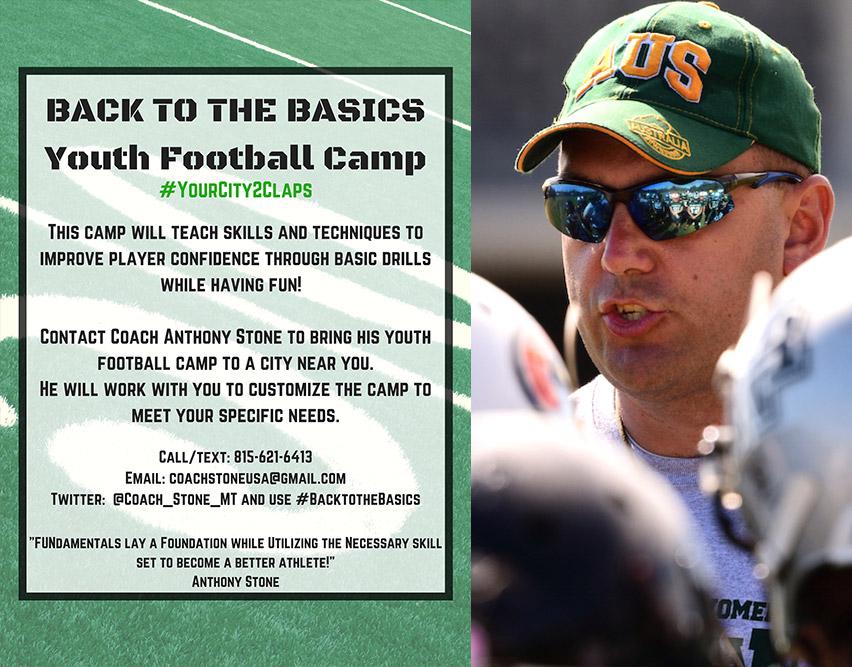 Back to Basics Youth Football Camp