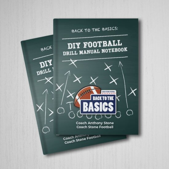 Back to the Basics: DIY Football Drill Manual Notebook